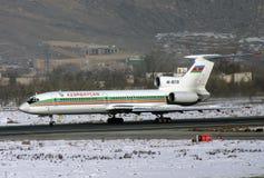 TU - 154 Μ Στοκ Φωτογραφίες