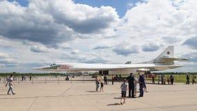 Tu-160 Alexander Novikov Image stock