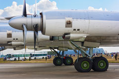 Tu-95 Bear. Royalty Free Stock Images