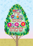Tu-bi shvat. Tu bi Shvat in the Jewish tradition New Year trees Royalty Free Stock Photos