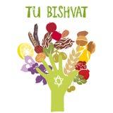 Tu BiShvat or Tu BiShevat Royalty Free Stock Images