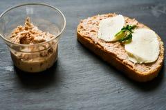 Tuńczyk kanapka Fotografia Royalty Free
