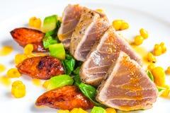 Tuńczyka stek Fotografia Stock
