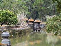Tu Duc in Hue - Vietnam. Tu Duc in Hue in Vietnam royalty free stock photo