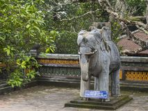 Tu Duc in Hue - Vietnam. Tu Duc in Hue in Vietnam royalty free stock images