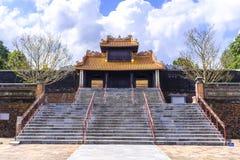 Tu Duc Tomb cerca de la tonalidad, Vietnam imagenes de archivo