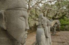 Tu Duc Tomb nära ton, Vietnam (3) Arkivfoto
