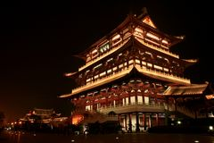 Tu fu pavilion. Tu Fu,one of the most famous poets in Tang dynasty,was also called the sage of poem.Tu Fu pavilion,located in the City of Changsha in WuNan Stock Image
