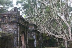 Tu Hieu Pagoda, where Thich Nhat Hanh once lived, Hue, Vietnam. Người làng Mai Royalty Free Stock Photo