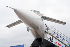 TU-144 at International Aerospace Salon MAKS-2013 Stock Image