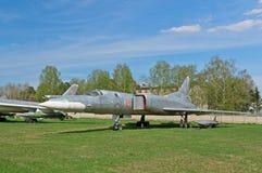 Tu22M战略轰炸机的初期版本 库存图片