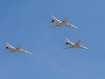 Tu-22M3 aircraft Royalty Free Stock Photography