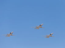 Tu-22M3 bombers Royalty Free Stock Photo