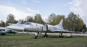 Tu-22M pierwszy Radzieccy naddźwiękowi dalekonośni zmienni zakresów wi Obraz Royalty Free