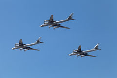 Tu-95 Royalty Free Stock Photo