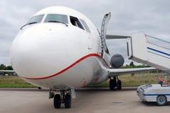 Tu szczegół Rosyjski samolotowy zdjęcia royalty free
