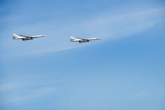 Tu-160 (White Swan) Royalty Free Stock Photo