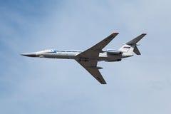 Tu-134 Stock Photo