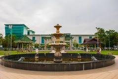 Tua Pek Kong Chinese Temple in Chinatown Kuching, Sarawak malaysia borneo Immagini Stock Libere da Diritti