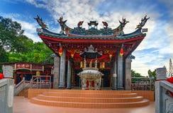 Tua Pek Kong Chinese Temple in Kuching immagini stock libere da diritti
