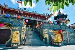 Tua Pek Kong Temple i den Bintulu staden Arkivfoton