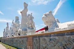 Tua Pek Kong Temple, Sitiawan, Malaisie Photos libres de droits