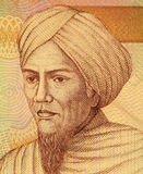 Tuanku Imam Bonjol. (1772-1864) on 5000 Rupiah 2008 Banknote from Indonesia. Hero in the Indonesian struggle against Dutch rule Royalty Free Stock Images