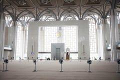 Tuanku Miizan zainal abidin mosque inside, Putrajaya,  Malaysia Stock Photos