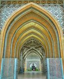 Tuanku Mizan Zainal阿比丁清真寺,布城,马来西亚 免版税库存图片