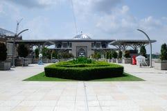 Tuanku Mizan Zainal Abidin meczet a K A Stalowy meczet w Putrajaya Obrazy Royalty Free