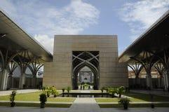 Tuanku Mizan Zainal Abidin meczet w Putrajaya (Masjid Besi) Zdjęcia Royalty Free