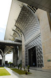 Tuanku Mizan Zainal Abidin Mosque (Masjid Besi) in Putrajaya Stock Images