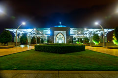 Tuanku Mizan Zainal Abidin Mosque at night Royalty Free Stock Photography