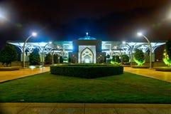 Tuanku Mizan Zainal Abidin Mosque at night Royalty Free Stock Photography