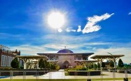 Tuanku Mizan Zainal Abidin Mosque Putra Jaya Malaysia Lizenzfreies Stockfoto