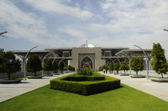 Tuanku Mizan Zainal Abidin Mosque in Putrajaya Royalty Free Stock Images