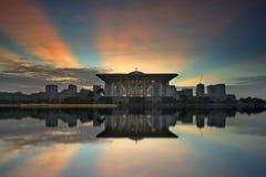 Tuanku Mizan Zainal Abidin Mosque, Putrajaya Malaysia Stock Photos