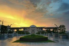 Tuanku mizan zainal abidin mosqueiron mosque stock photography
