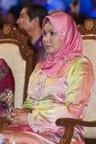 Tuanku Nur Zahirah. KUALA LUMPUR, MALAYSIA-MAY 21: Tuanku Nur Zahirah, the Queen (Queen Consort) of Malaysia during the celebration of Color of 1 Malaysia on May Royalty Free Stock Image