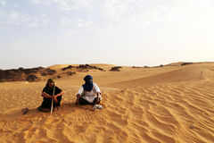 Tuareg Keepers Stock Photography