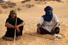 Tuareg Keepers Royalty Free Stock Photo