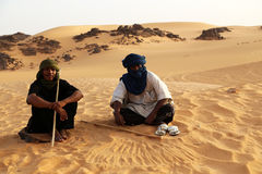 Tuareg Keepers Stock Photo