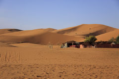 Tuareg nomads camp, Morocco Royalty Free Stock Images