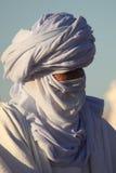 Tuareg in the Sahara Stock Photography
