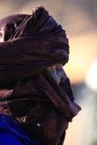 Tuareg in the Sahara Stock Photos