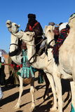 Tuareg in the Sahara Royalty Free Stock Photography