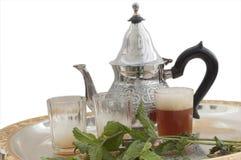Tuareg tea stock image