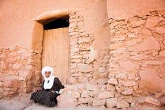Tuaregfolk Arkivbild