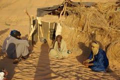 Tuaregs in Libya Royalty Free Stock Images