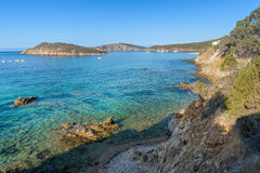 Tuarredda beach in south sardinia Royalty Free Stock Photography